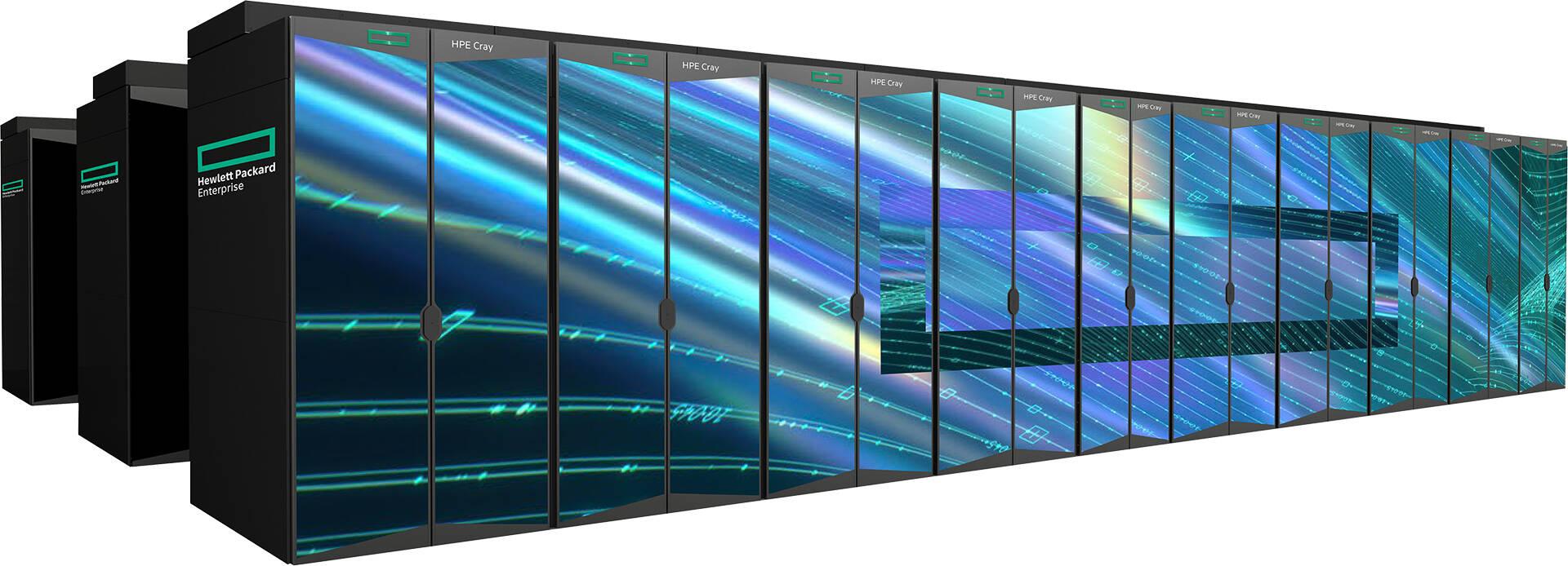 Supercomputer LUMI