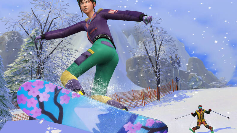 The Sims 4 Snowy Oasis | Expansion Pack Review