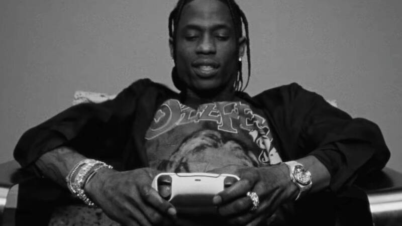 PS5: Sony starts a partnership with Travis Scott