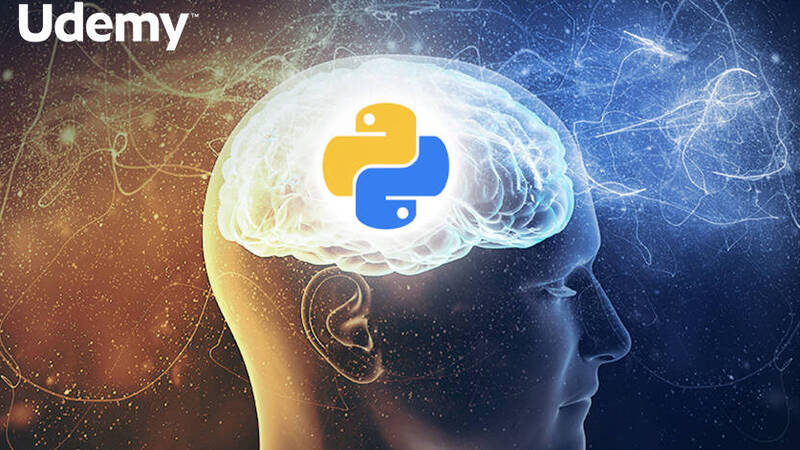 Udemy, complete course on Machine Learning and Data Science in Python at 11.99 euros