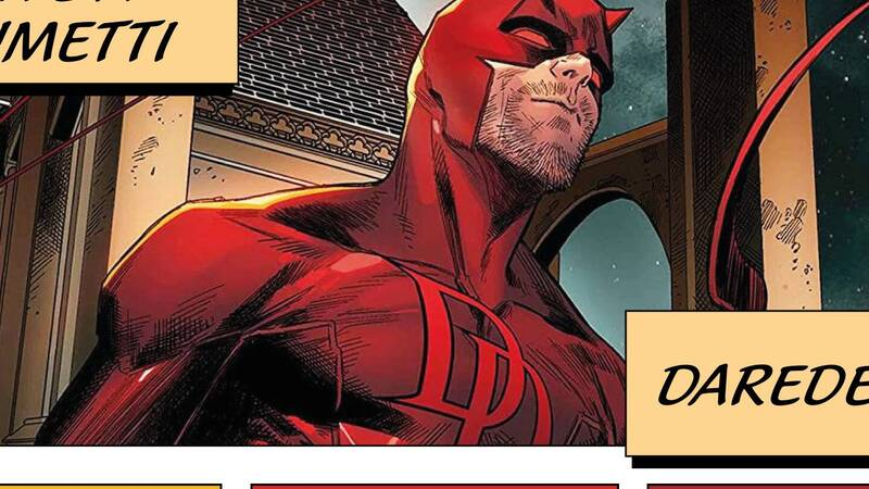 Lives in Comics: Andrea Artusi tells about Daredevil