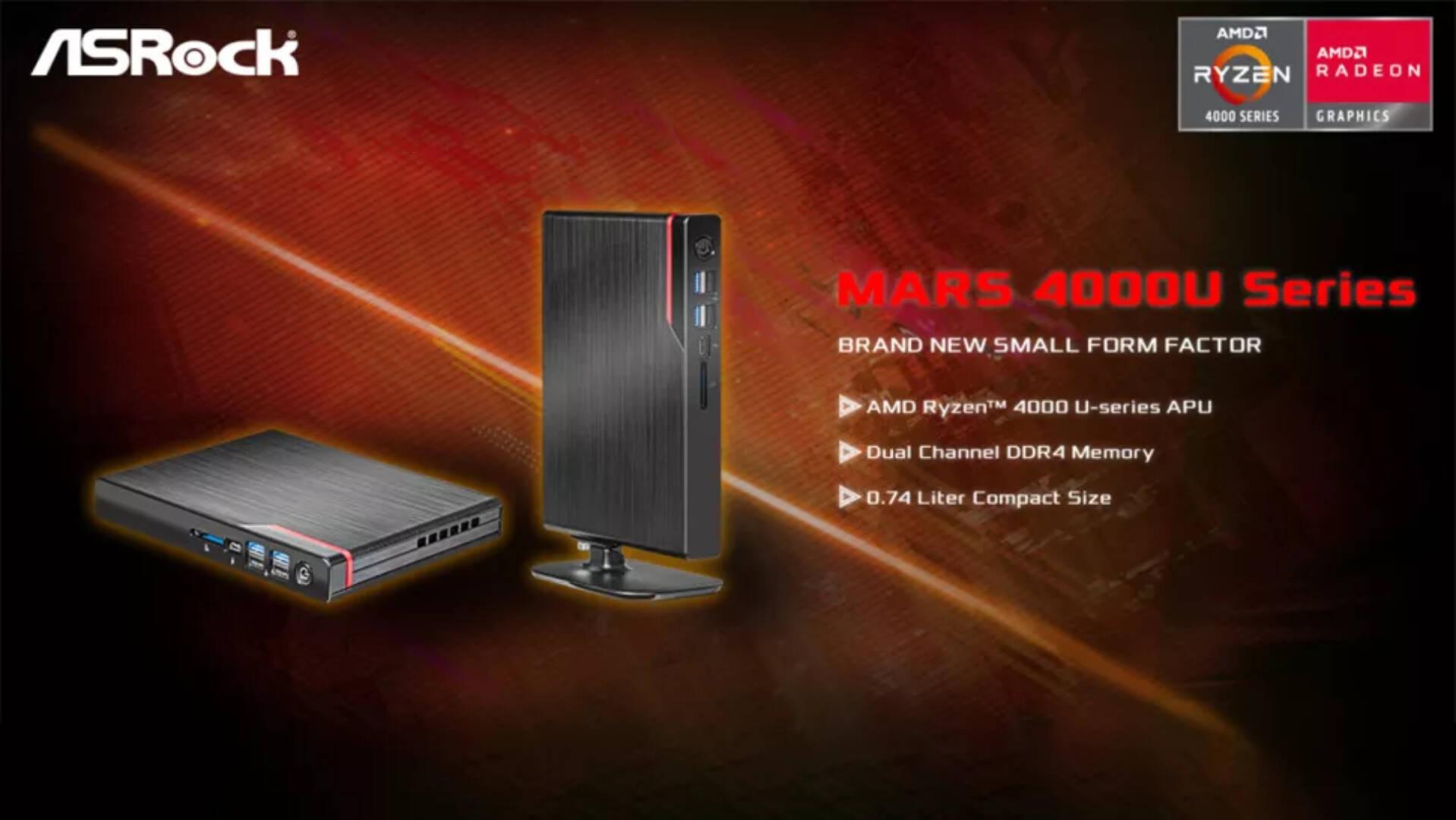 ASRock Mars 4000U