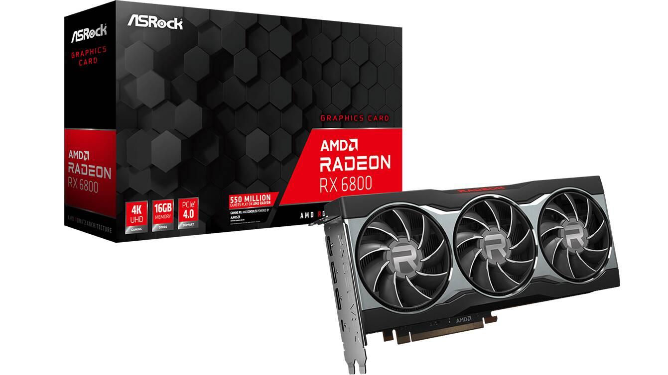 ASRock Radeon RX 6800