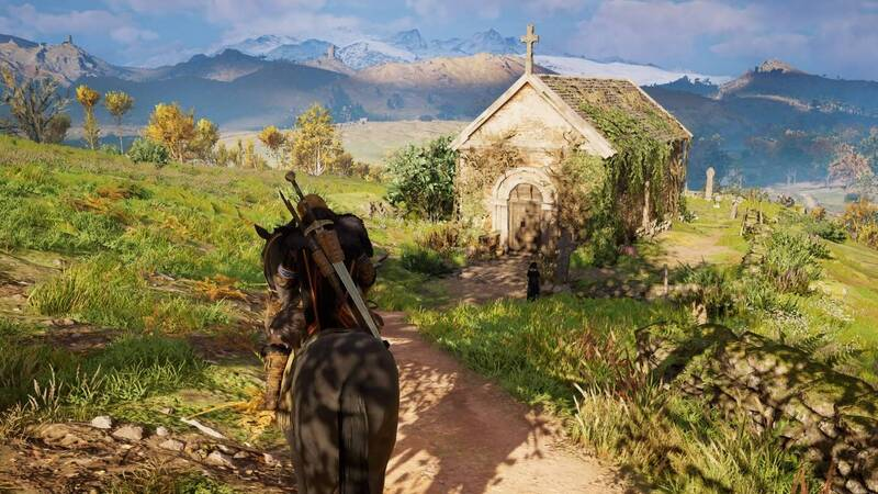 Assassin's Creed Valhalla: a difference in landscape centuries later