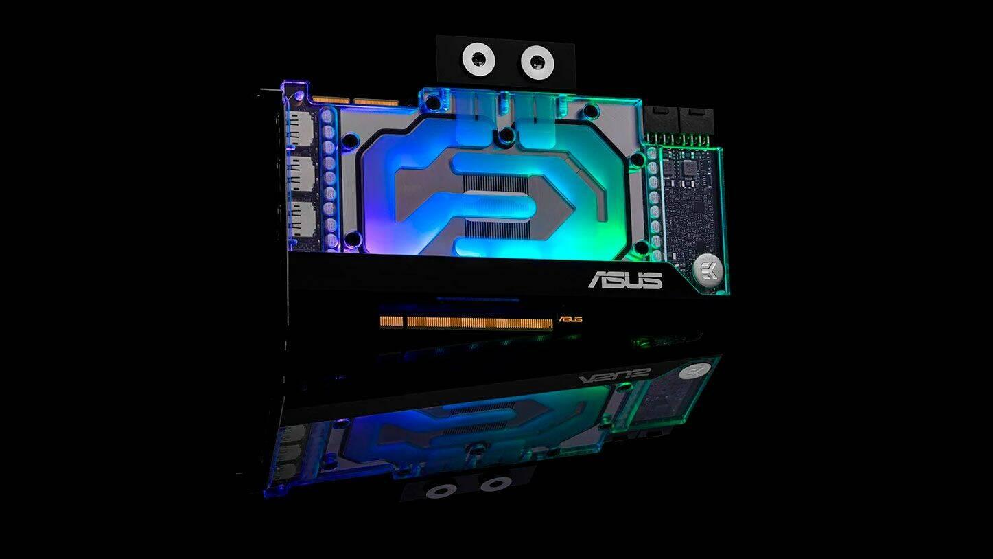 ASUS EKWB Ampere GPU