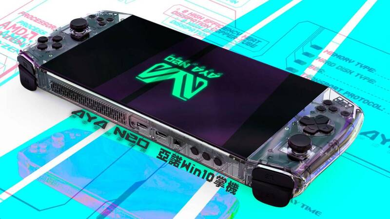 A Chinese handheld console with Ryzen APU challenges Nintendo Switch