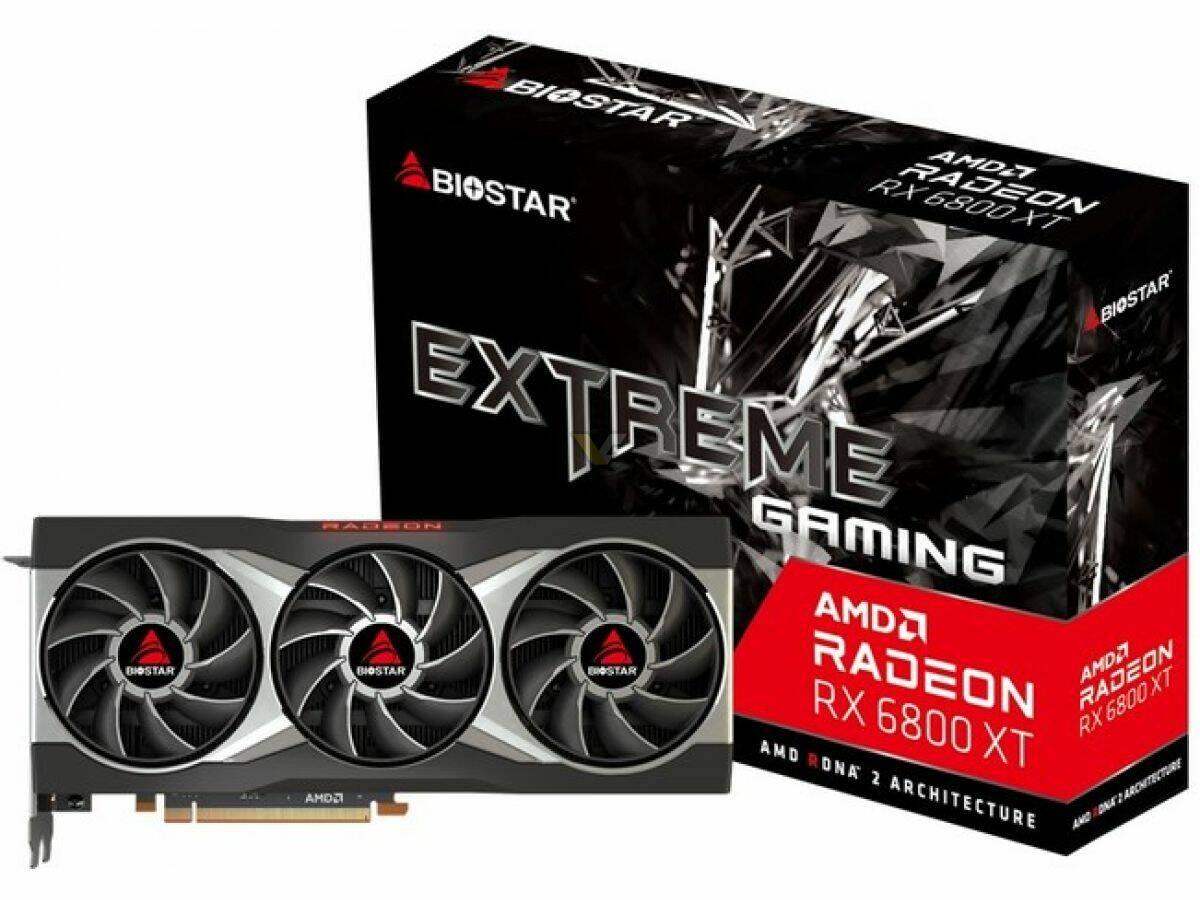 Biostar Radeon RX 6800 XT