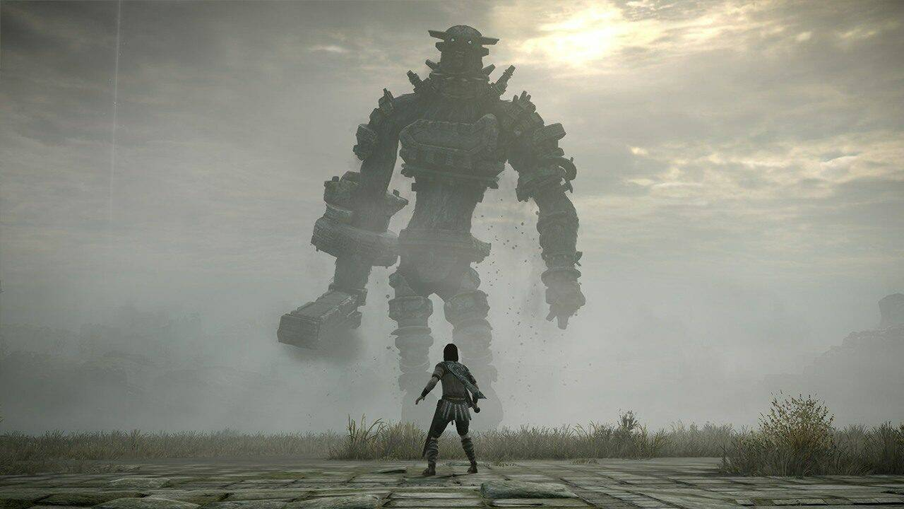 bluepoint games shadow of the colossus demon's souls