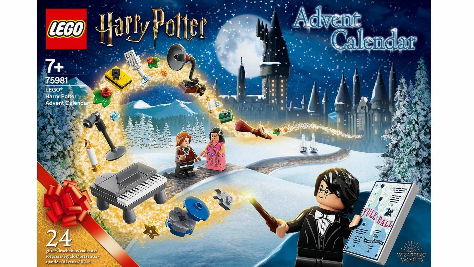 calendario avvento harry potter lego