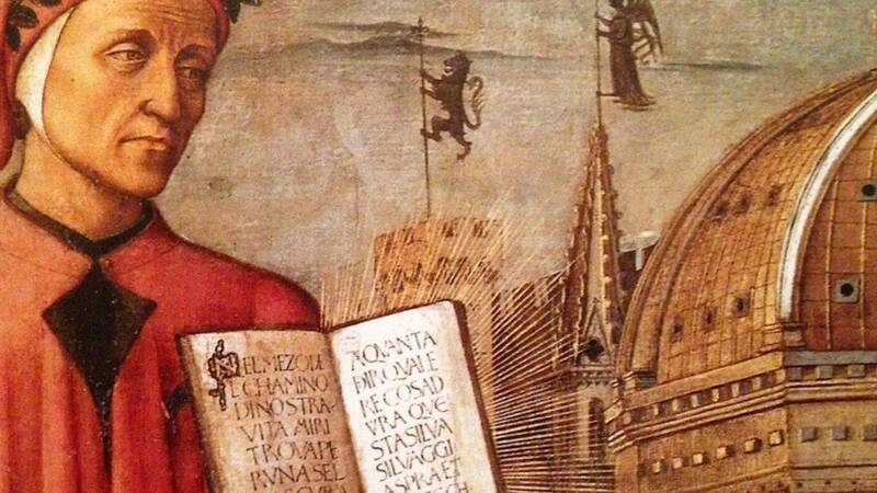 What if Dante was on Facebook? in Lucca Changes