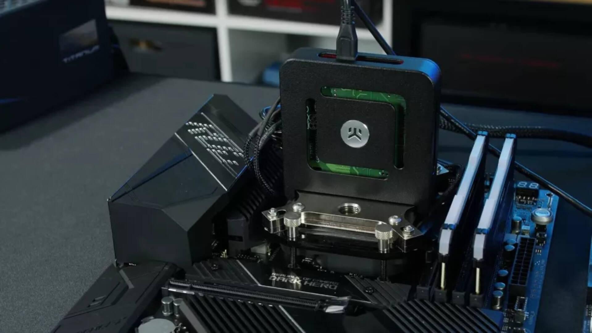 Der8auer Intel Cryo Cooler AMD Ryzen 9 5950X