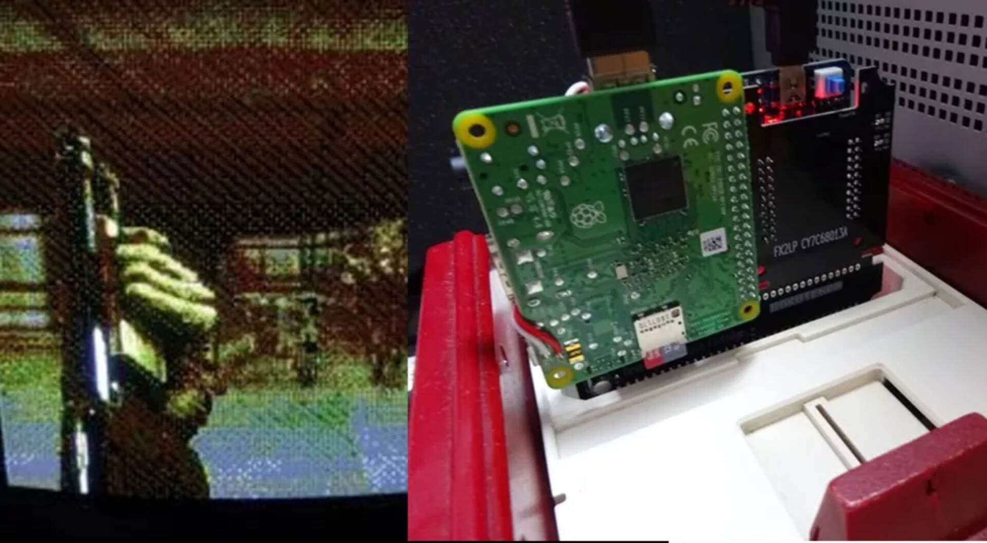 DOOM NES Raspberry Pi