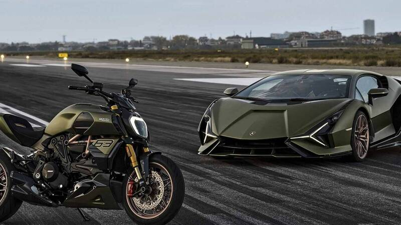 Ducati in limited edition, the Diavel 1260 Lamborghini is born