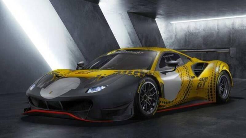Ferrari 488 Gt Modified: no limits for maximum performance