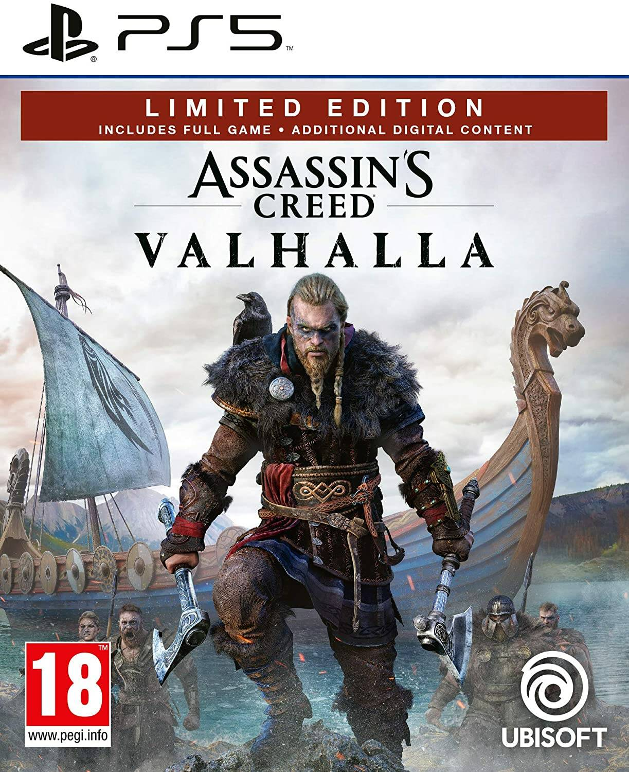 Assassin's Creed Valhalla copertina