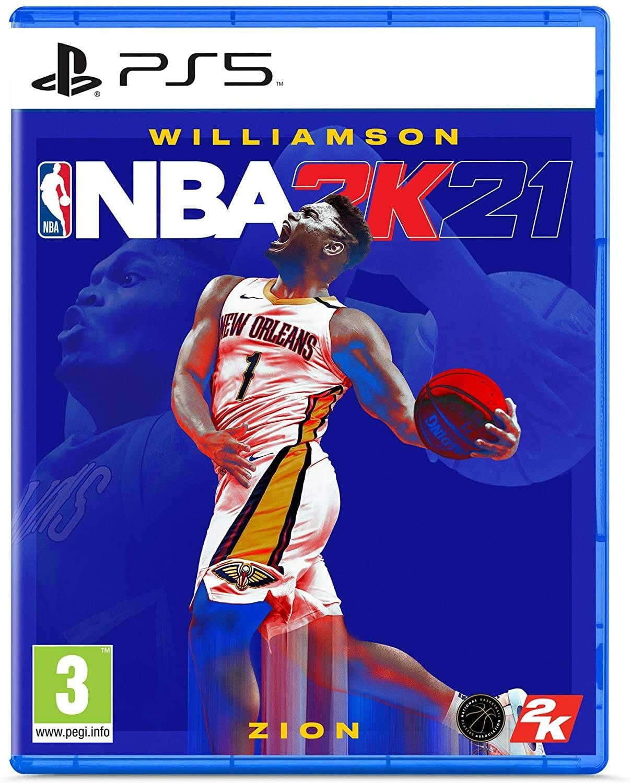 NBA 2K21 copertina