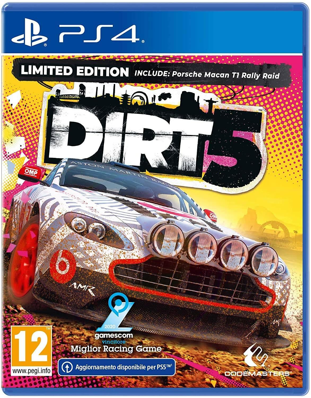 Dirt 5 copertina