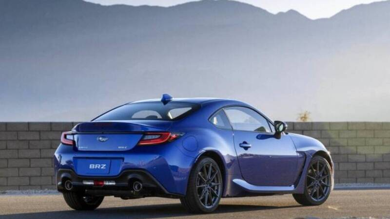 Subaru BRZ 2021: coupé with a modern look and innovative technologies