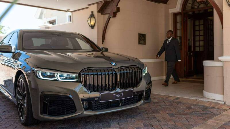 BMW 745Le xDrive, luxury by BMW Individual and Ellerman House