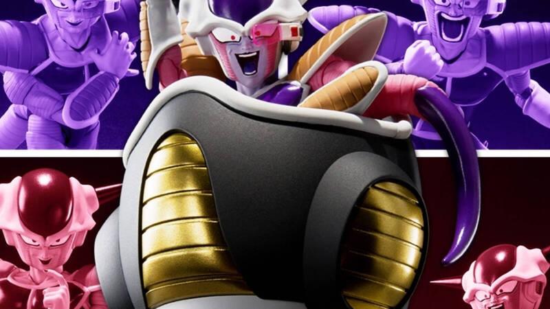 Dragon Ball Z, Freeza First Form & Freeza Pod from Tamashii Nations