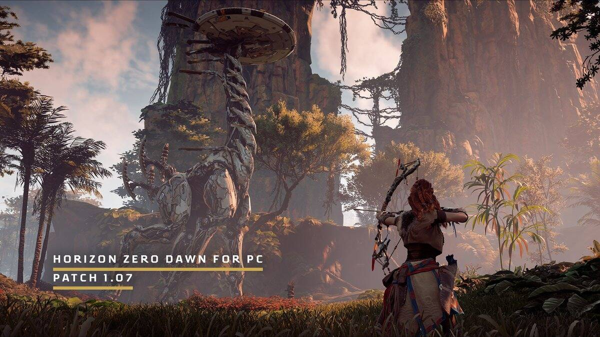 Horizon Zero Dawn patch 1.07