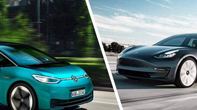 Electric cars: Volkswagen ready to overtake Tesla, 2021 year of ID.3?