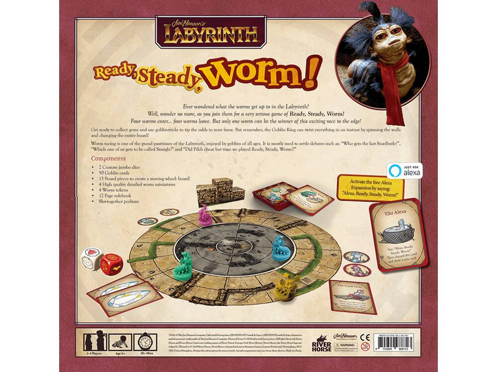 Labyrinth Ready Steady Worm