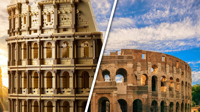 """The heart of Rome is not the marble of the Senate, but the sand of the Colosseum"". The 10276 LEGO Colosseum set has arrived."
