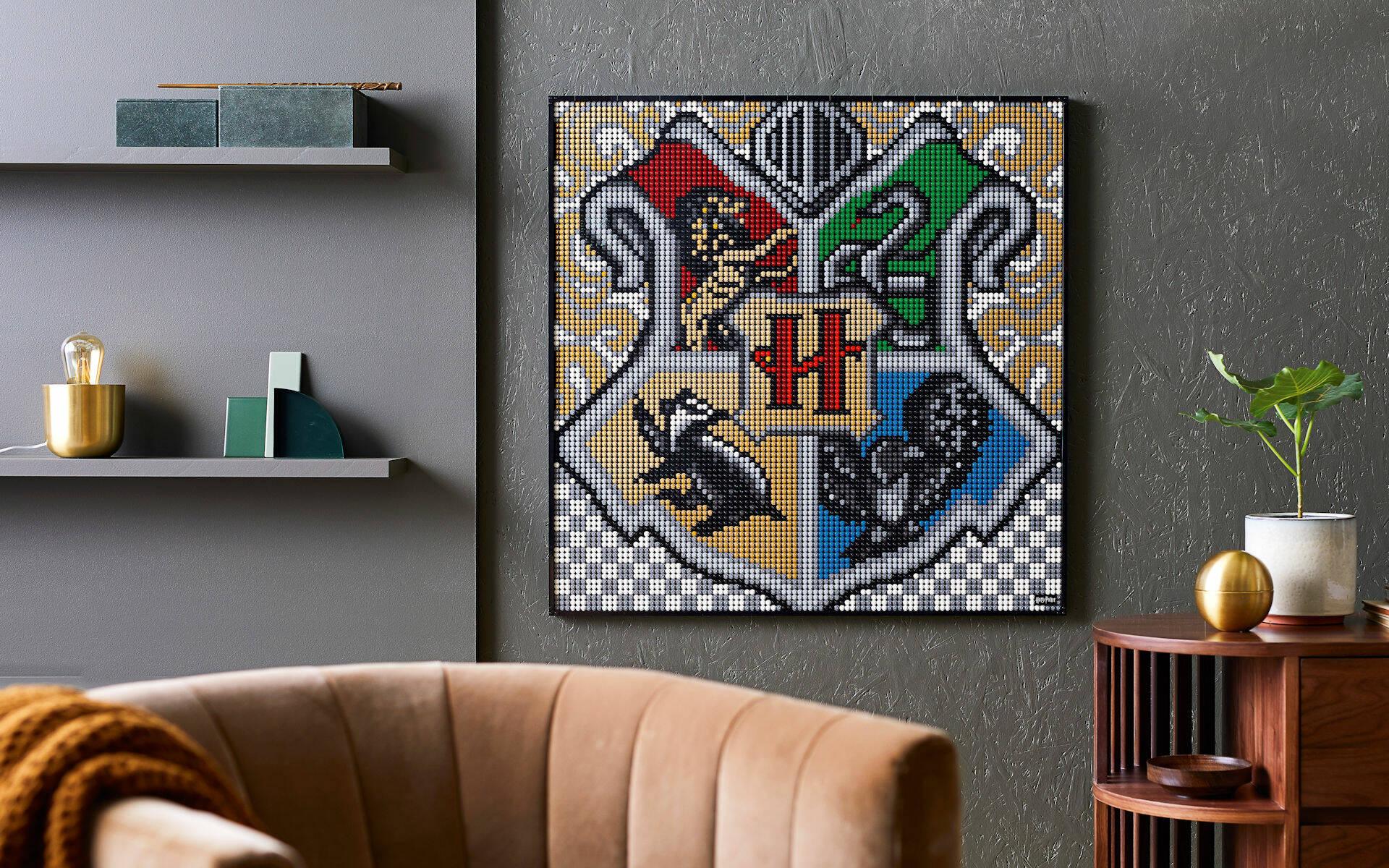 LEGO ART 31201 CASE DI HOGWARTS