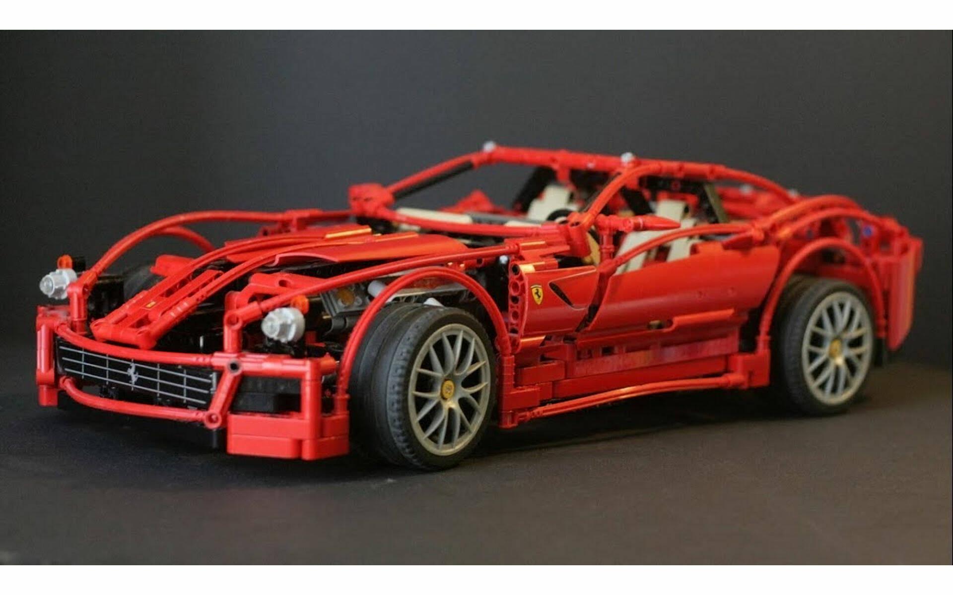 LEGOTECHNIC FERRARI 488 GTE