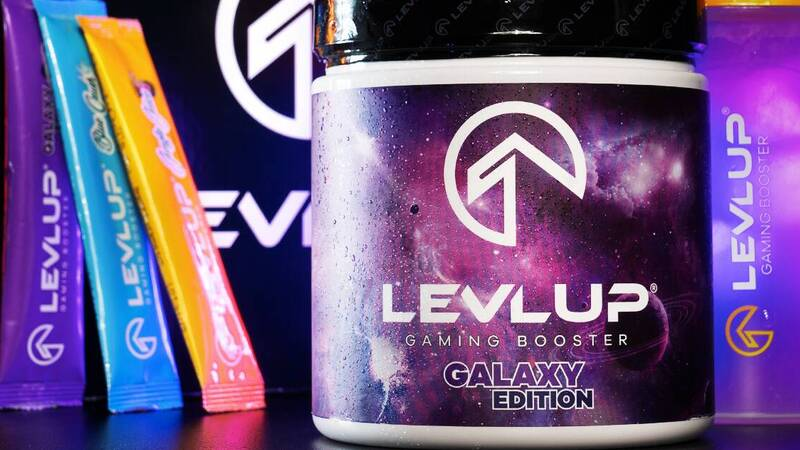 LevlUp, the drink for gamers