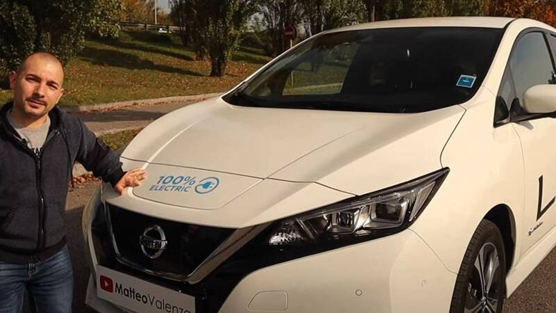 Matteo Valenza tells us about the Nissan Leaf E + with 62 kWh battery