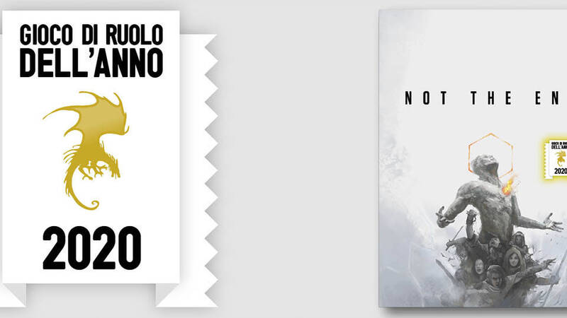 Lucca Changes: Not the End by Fumble GDR is the Role-playing Game of the Year 2020!