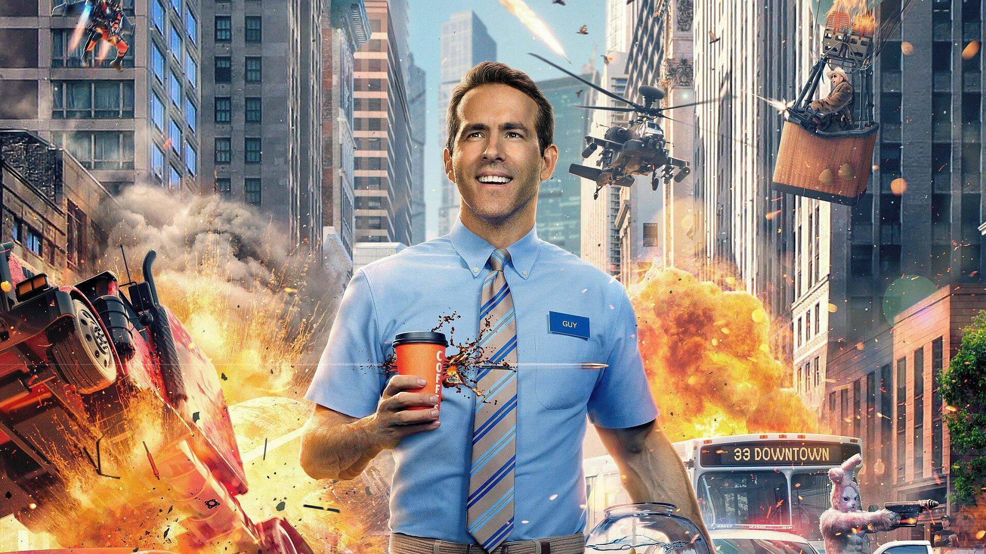 Ryan Reynolds Free Guy