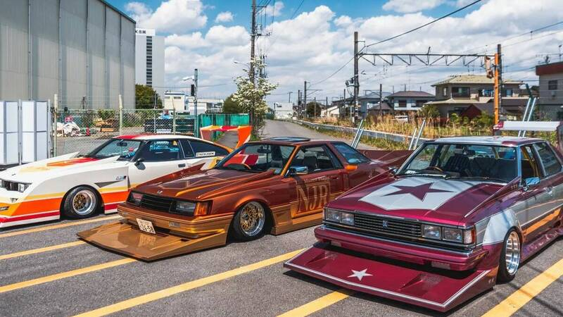 Bosozoku and Shakotan, the Japanese low riders were born like this