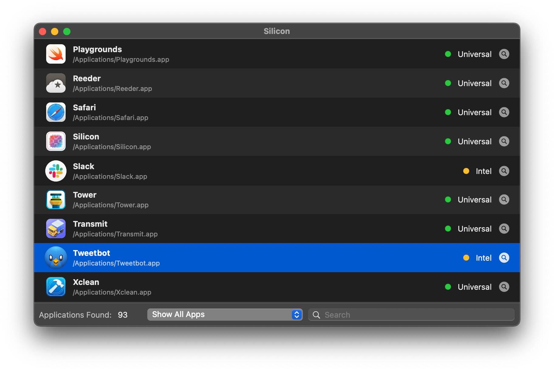 Silicon, DigiDNA, (Apple M1 compatibility check)