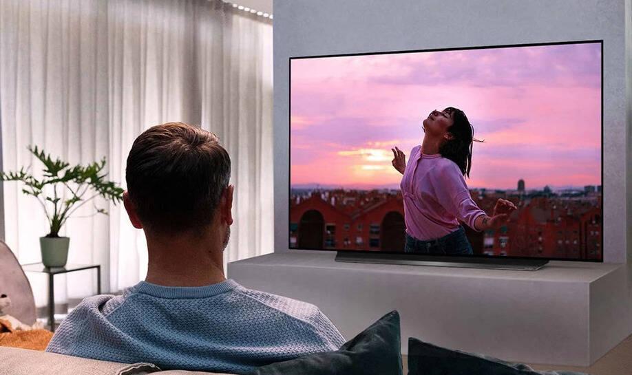 smart tv  LGOLED55CX6LA