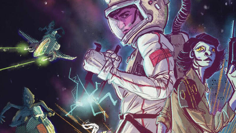 Teens in Space, the roleplaying game review for young space adventurers