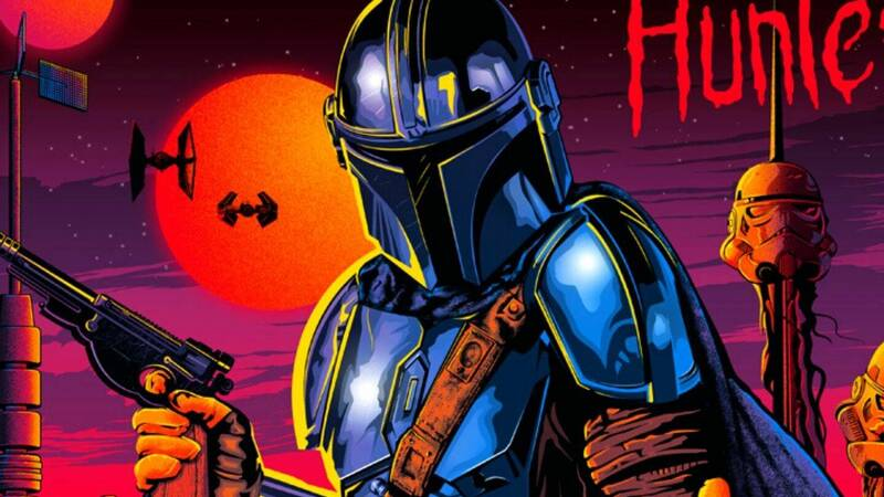 The Mandalorian t-shirt exclusive for a few hours on TeeTee