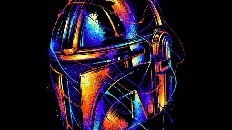The Mandalorian T-shirt exclusively for a few hours on TeeTee!