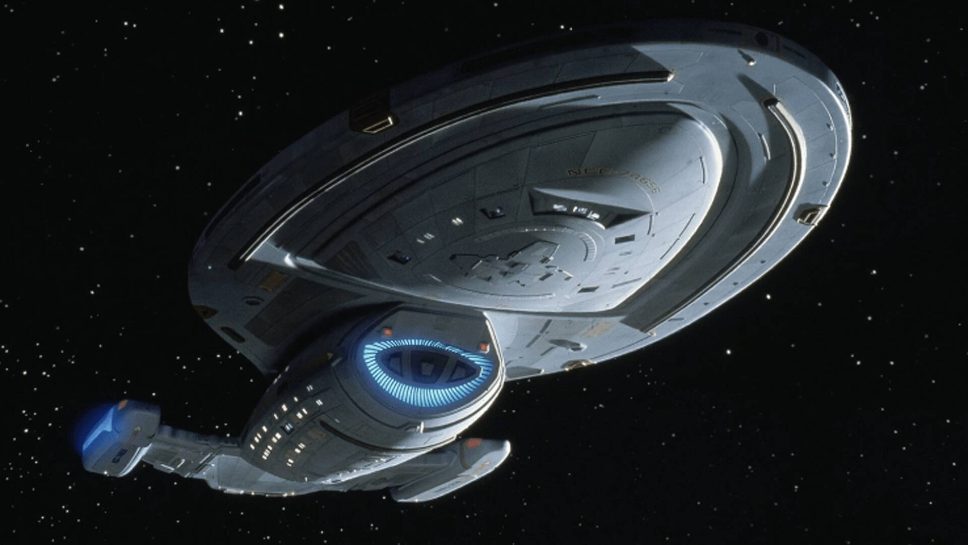 USS Voyager microswimmer