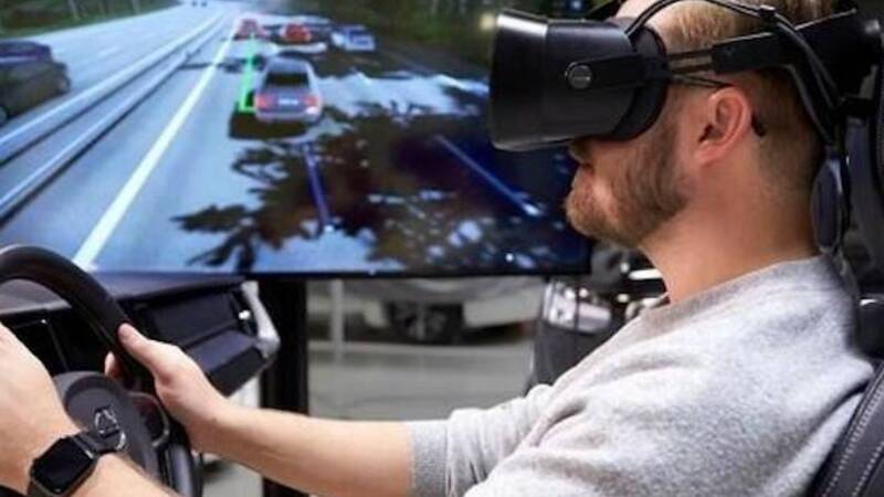 Volvo: more driving safety thanks to simulators and video games