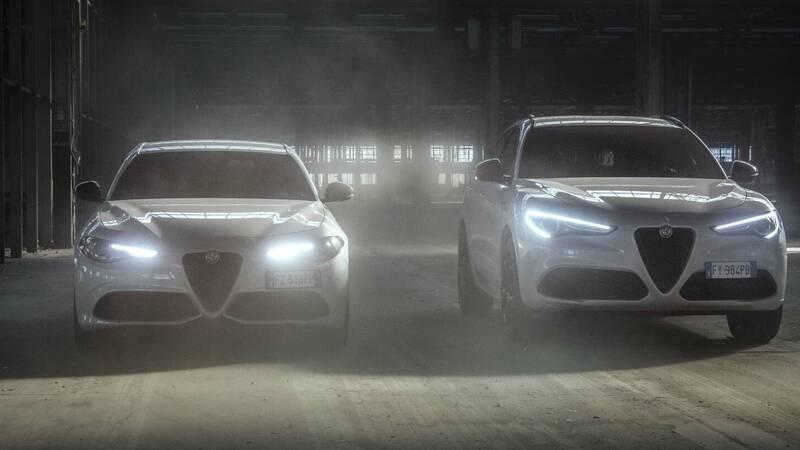 Alfa Romeo Giulia and Stelvio: Veloce Ti set-up inspired by Quadrifoglio Verde