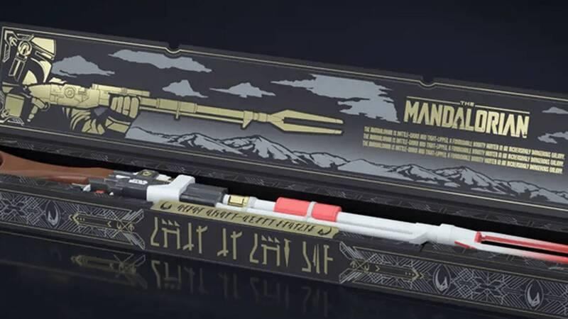 NERF presents The Mandalorian rifle