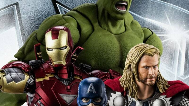 Avengers: Bandai action figures from the film arrive