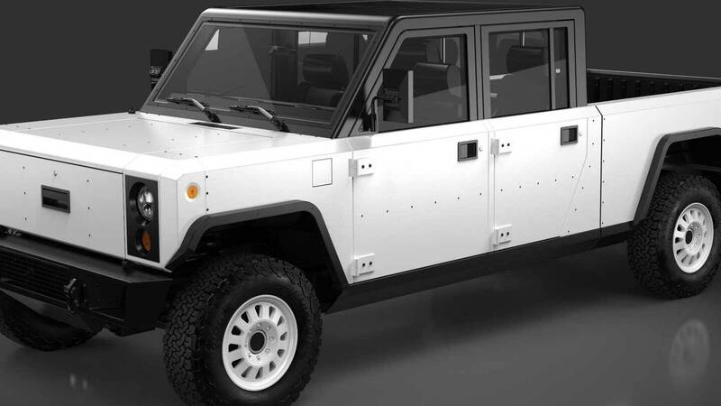 Bollinger B2, the electric truck that looks like a LEGO challenges Rivian