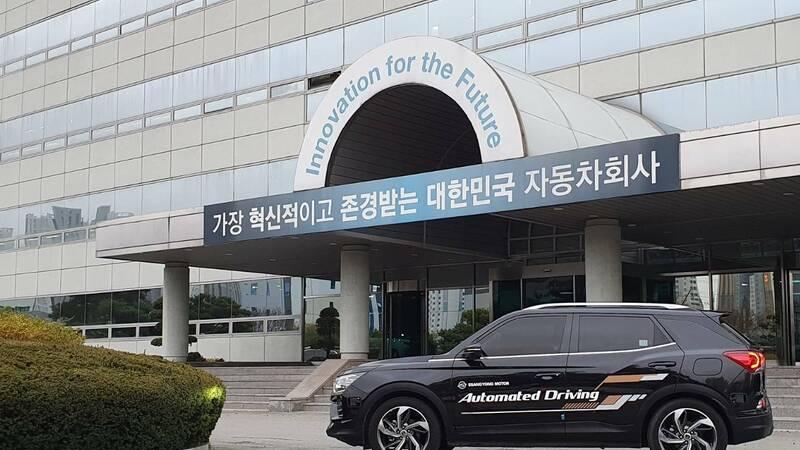SsangYong Korando, road tests with level 3 autonomous driving begin