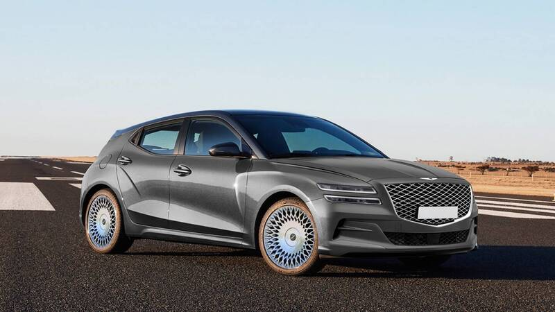 Genesis JW: the 100% electric SUV that challenges Tesla