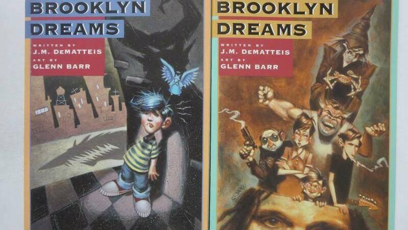 Brooklyn Dreams: a comic book autobiography